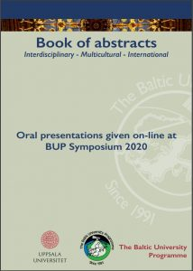 Cover page of the Book of Abstracts.