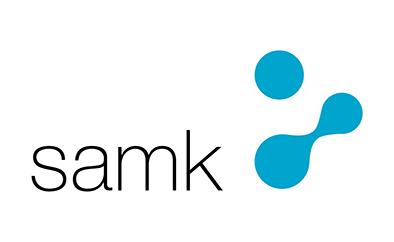 SAMKin logo.